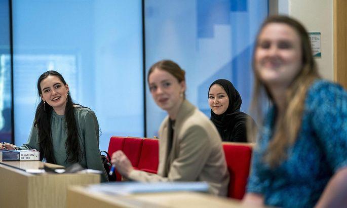 Ein Archivbild von der Erasmus Universität in Rotterdam, die denselben Namensgeber hat wie das Austausch- und Bildungsprogramm der EU.