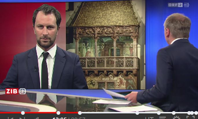 "Dornauer in der ORF-Sendung ""ZiB2"" am 26. Februar 2019"