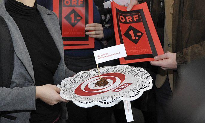ORFAngestellte solidarisieren sich Freien