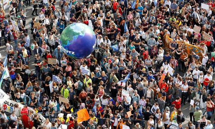 Symbolbild: Klimaaktivisten