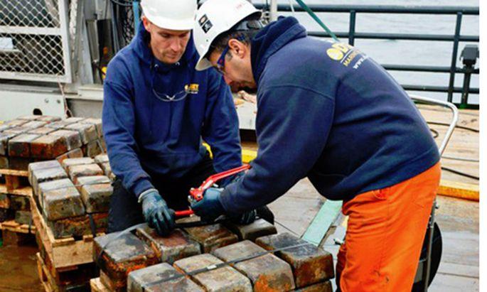 USFirma findet Tonnen Silber