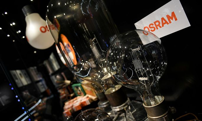 FILE PHOTO: German lighting manufacturer Osram