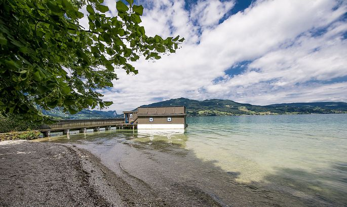 Bootshaus am Attersee