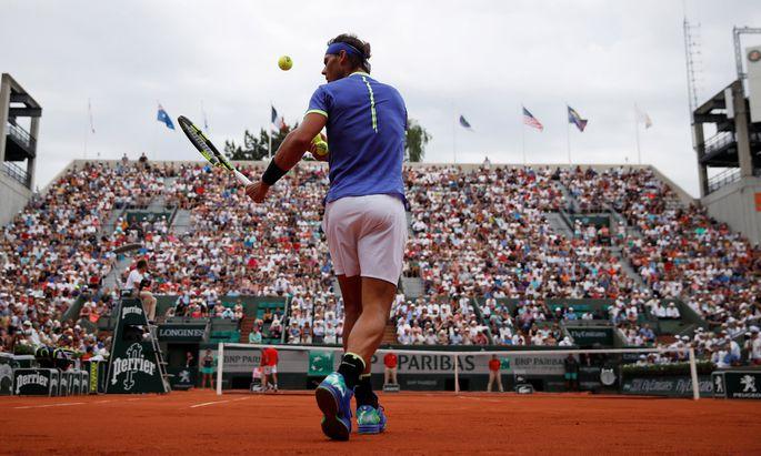 Rafael Nadal: in alter Stärke zurück auf seinem liebsten Sandplatz.