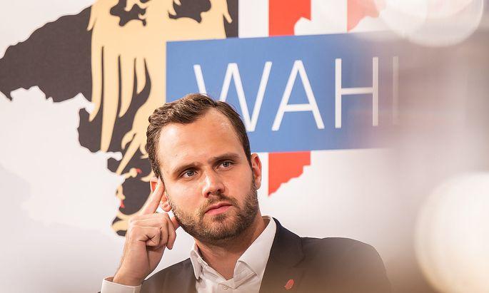 Neos-Spitzenkanidat Felix Eypeltauer