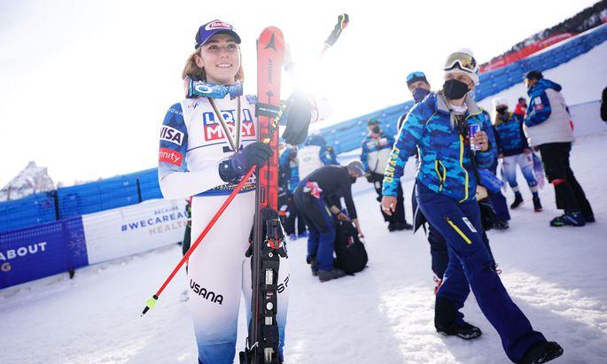 Kurs auf einen Ski-Winter wie früher: Mikaela Shiffrin.