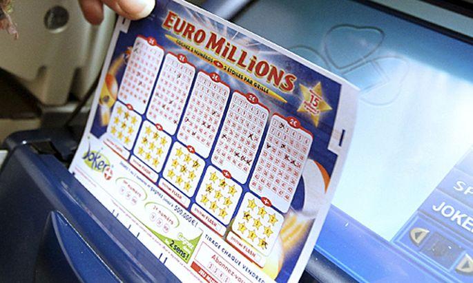 Rekordgewinn EuroMillionen Brite gewinnt