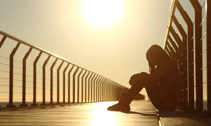 Unglückliche Menschen können anderen das Leben schwer machen.