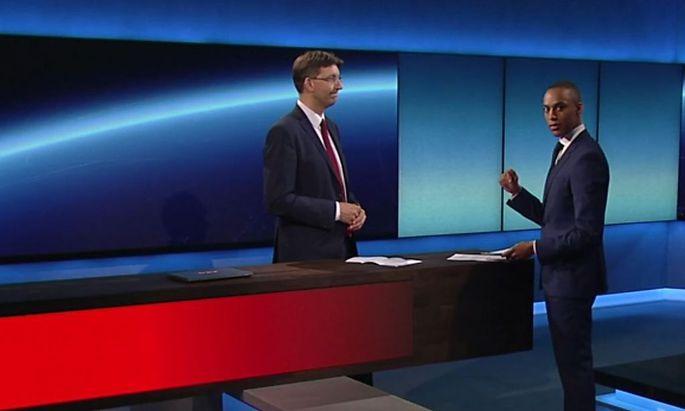 Stefan Lenglinger, sehr professionell am Donnerstagabend.