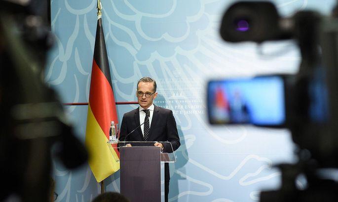 Archivbild: Deutschlands Außenminister will Waffenexporte nach Saudiarabien vorerst aussetzen.