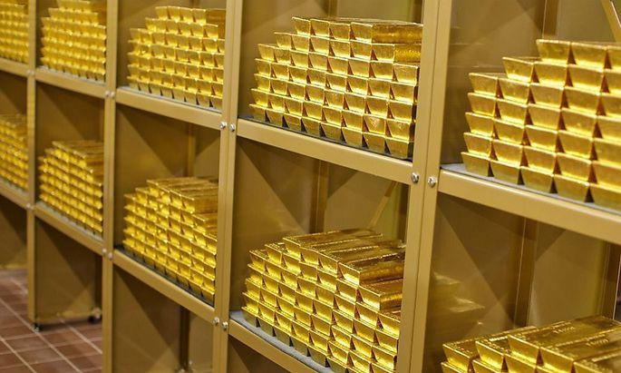 Seit dem Ende des Zweiten Weltkriegs war es üblich, die Reserven auf den Goldhandelsplätzen zu lagern – vor allem in London.