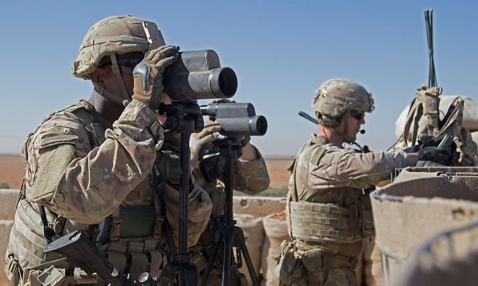 US-Soldaten in Syrien