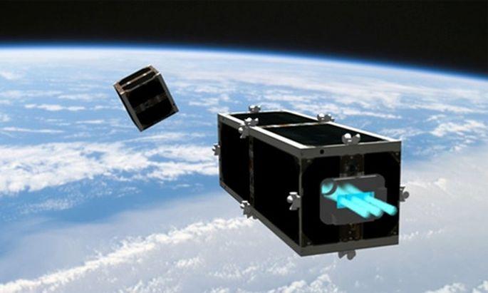 Schweizer Satelliten kosmische Muellabfuhr