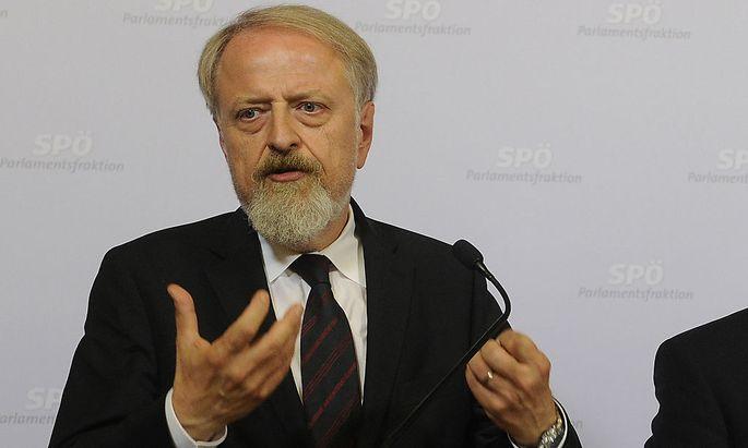 PSPÖ-Bundesgeschäftsführer Gerhard SchmidK SPOe: SCHMID/FAYMANN