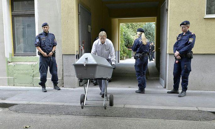 Die 14-Jährige wurde in einem Innenhof in Wien-Favoriten erstochen