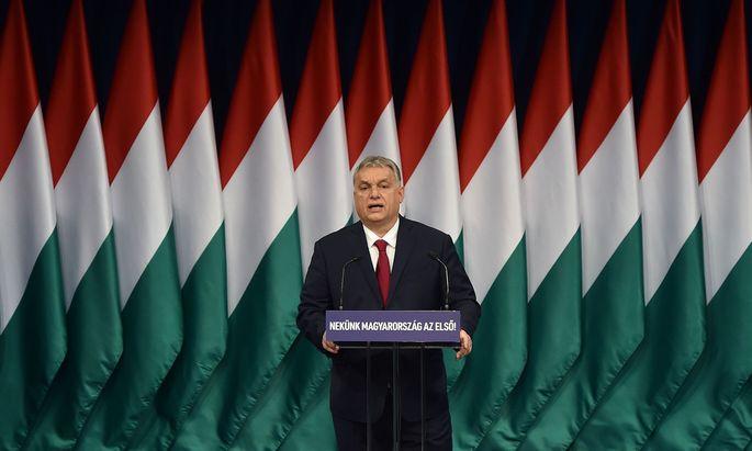 Regierungschef Viktor Orbán.