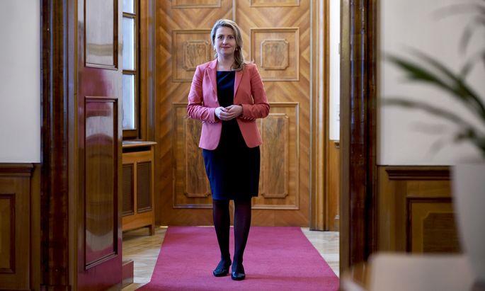 Susanne Raab (ÖVP), Ministerin für Integration und Frauen.