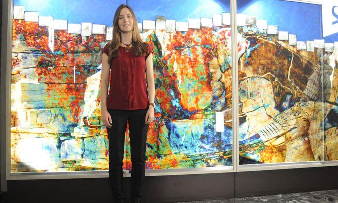 Für ihre Klimaforschung in Nordostgrönland erhielt Gina Moseley heuer den hoch dotierten START-Preis des Wissenschaftsfonds FWF.