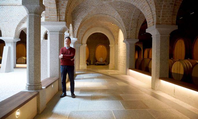 Fünf Jahre lang hat Moosbrugger den Weinkeller geplant.