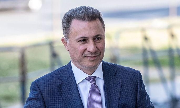 Ex-Premier Gruevski