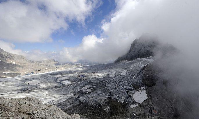 Archivbild vom Schladminger Gletscher im Dachsteinmassiv.