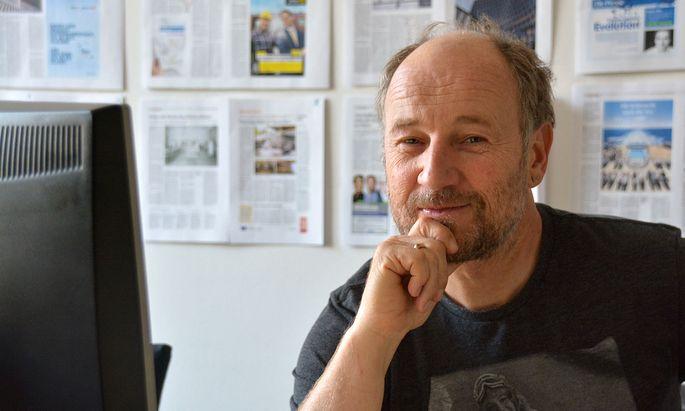 Roland Düringer im ''Presse''-Chatroom