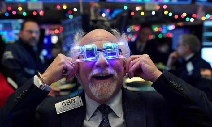 Die Anleger blicken optimistisch in die Zukunft.
