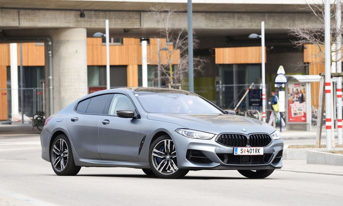 Opulenz, aber auch Dynamik auf fünf Meter Länge: BMW M850i Grand Coupé.