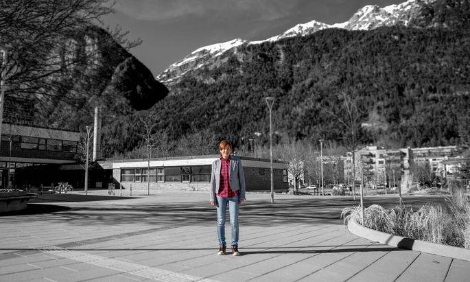Veronika Pedrini-Martha forscht seit 14 Jahren am Institut für Zoologie an der Uni Innsbruck – mit zwei Unterbrechungen für Karenzzeiten.