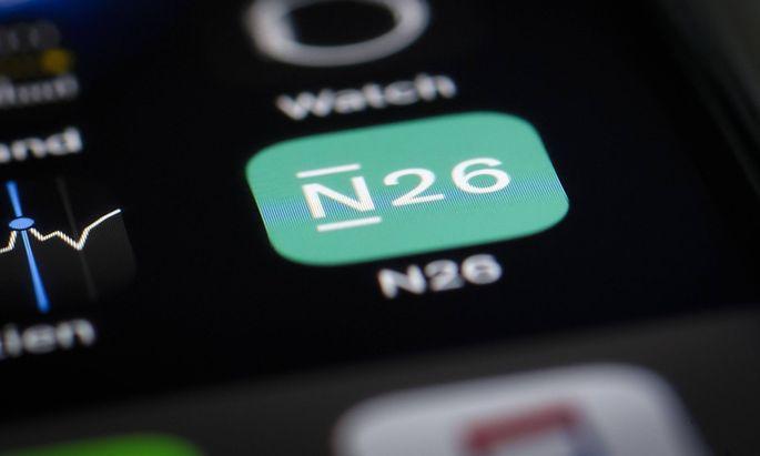 Das Logo der N26 Bank GmbH wird auf einem Smartphone angezeigt Berlin 11 01 2019 Berlin Deutschl