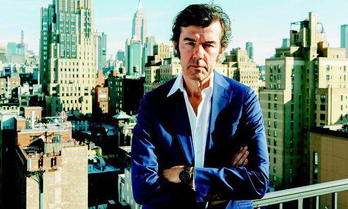 Weitblick. Der Wahl-New-Yorker Stefan Sagmeister denkt aktuell über Langzeitthemen nach.