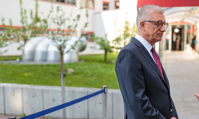 Salzburgs SPÖ-Chef Walter Steidl