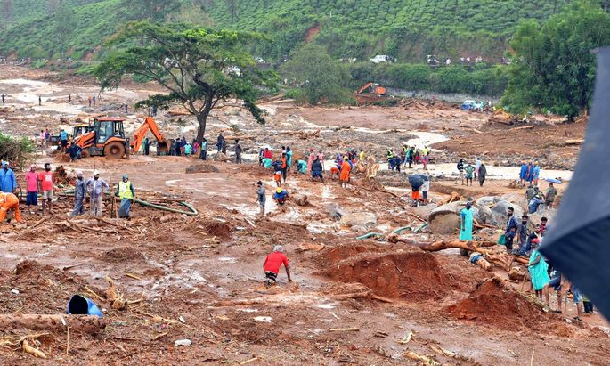 Monsunkatastrophen in Indien