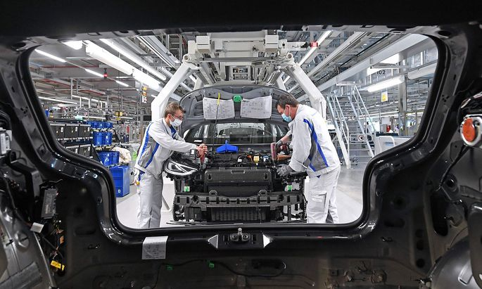 ID.3-Produktion im VW-Werk Zwickau