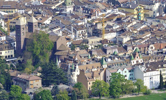 Altstadt von Bozen S�dtirol seoh08176