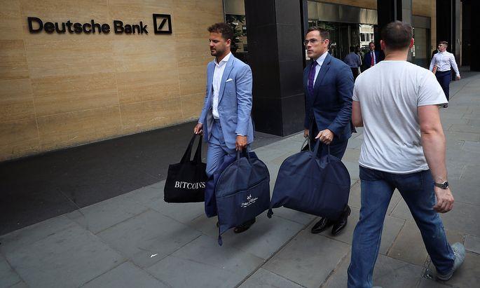 Jobabbau bei der Deutschen Bank hat gestartet.