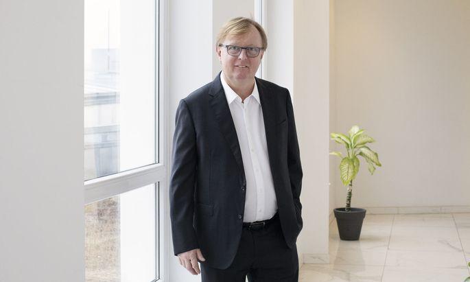 Peter Schaider betreibt unter anderem das Auhofcenter in Wien.
