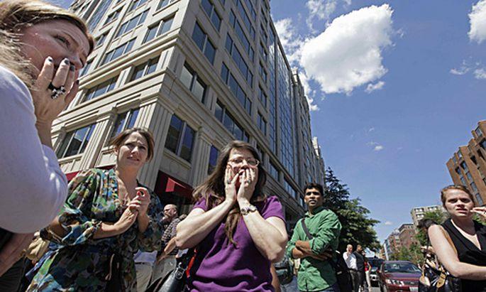 In Washington wurden zahlreiche Gebäude evakuiert.