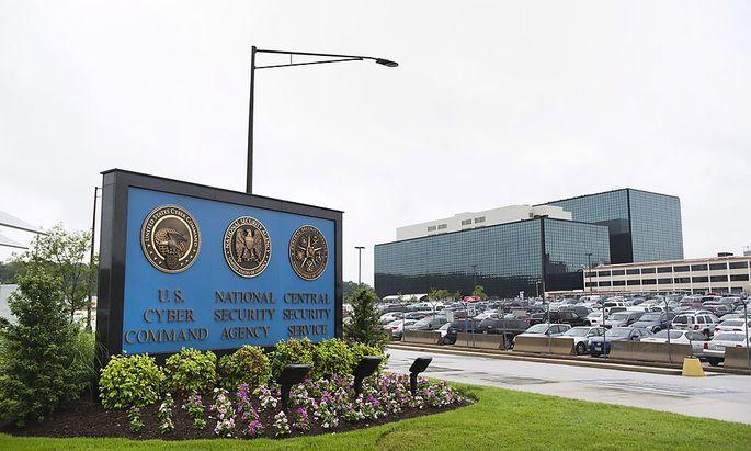 Die Zentrale der NSA in Fort Meade, Maryland.