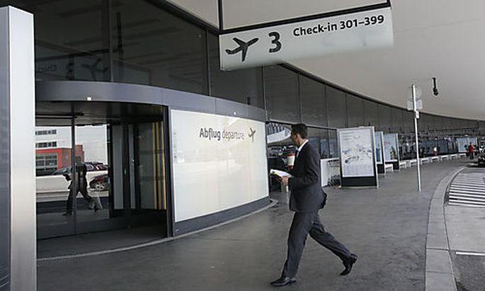 Betriebsaufnahme der Terminalerweiterung 'Skylink' auf dem Flughafen Wien-Schwechat