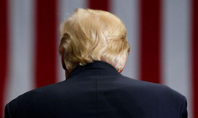Seit einem Jahr ist Donald Trump im Amt.