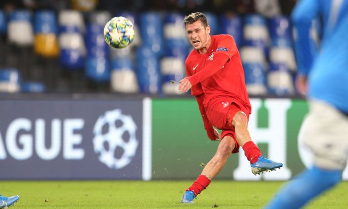 SOCCER - UEFA CL, Napoli vs RBS