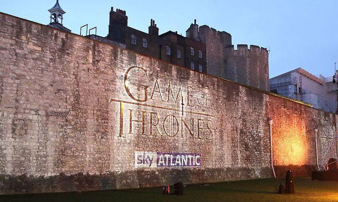 Vor passender Kulisse wurde die fönfte Staffel von Game of Thrones in London präsentiert.