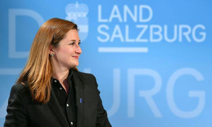 FPÖ-Spitzenkandidatin Marlene Svazek