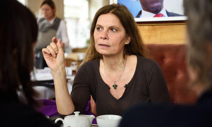 Starköchin Sarah Wiener kandidiert für die Grünen bei der EU-Wahl auf Listenplatz zwei.