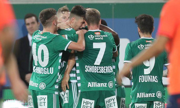 Rapid will seine Auswärtsserie in Mattersburg fortsetzen.