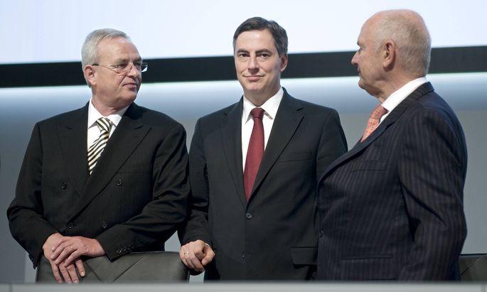 McAllister Martin Winterkorn Piech Hauptversammlung Volkswagen DEU Deutschland Hamburg 03 05 2