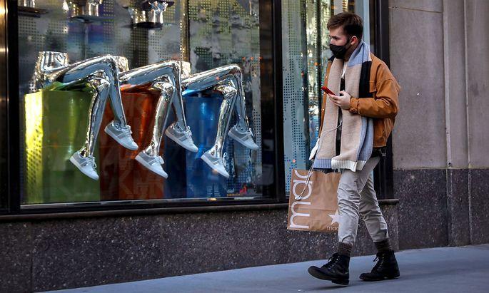 Ein Geschäft auf der 5th Avenue in New York.