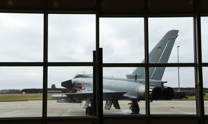 German Defense Minister Kramp-Karrenbauer visits Laage Air Base