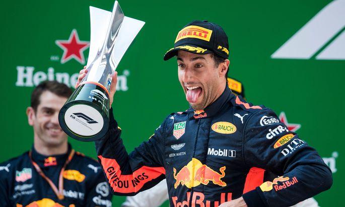 """Als Sechster gestartet, als Erster im Ziel. Ricciardo: """"Es kam unerwartet."""""""